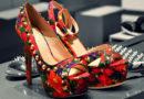 Red Printed Pump High Heels Patent